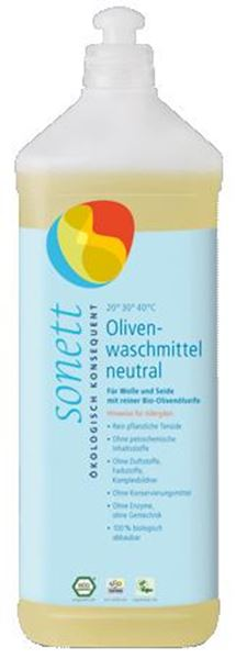 Picture of Olivenwaschmittel sensitiv, Sonett, 1l