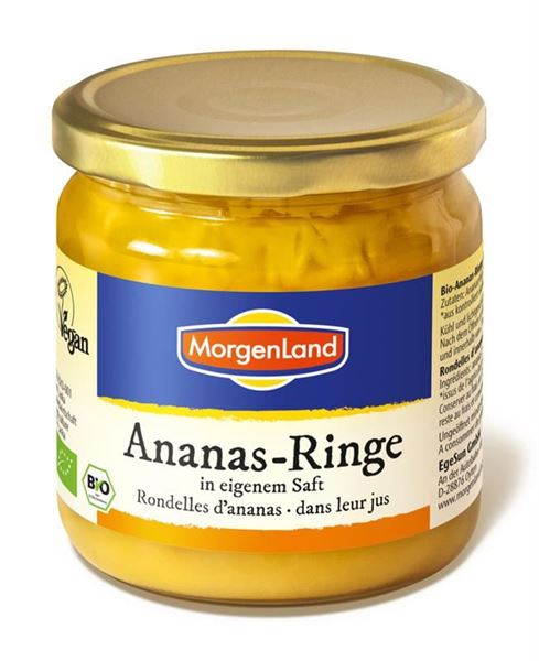 Picture of Ananas-Ringe, Morgenland, 350g
