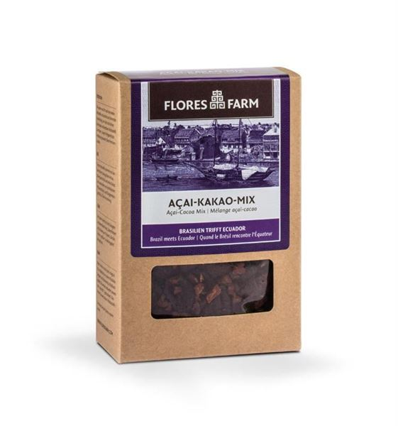 Picture of Acai-Kakao-Mix, Flores Farm, 100g