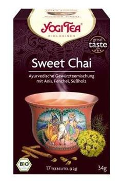 Picture of Tee Sweet Chai, Yogi Tea, 17 Btl