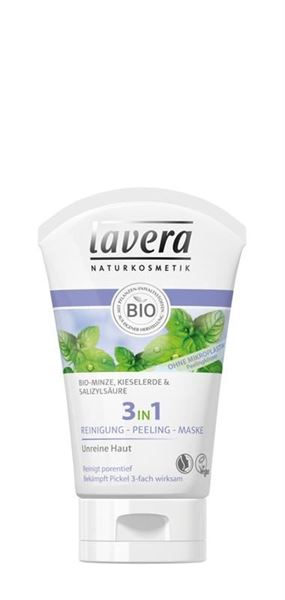 Picture of 3in1 Reinigung - Peeling - Maske, Lavera, 125ml