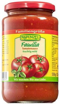 Picture of Familia Tomatensauce, Rapunzel, 550g