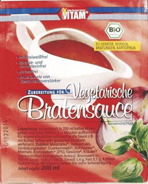Picture of Vegane Bratensauce, Vitam, ergibt 200ml