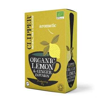 Picture of Lemon & Ginger, Clipper, 20Btl