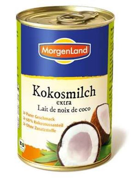 Picture of Kokosmilch extra, Morgenland, 400ml