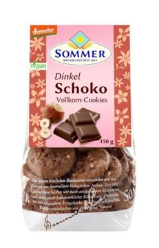 Picture of Dinkel Schoko-Cookies, Sommer, 150g