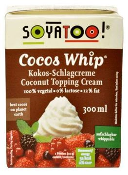 Picture of Kokos Schlagcreme, Soyatoo!, 300ml