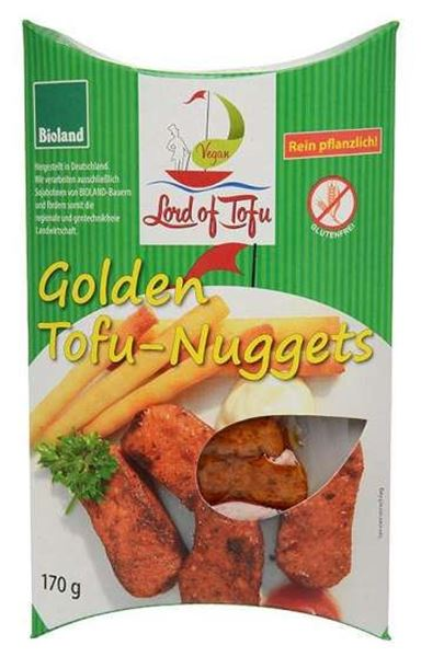 Bild von Golden Tofu-Nuggets, Lord of Tofu, 170g