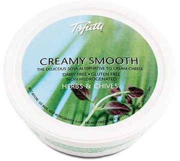Picture of Creamy Smooth Herbs & Chives, Tofutti, 225g
