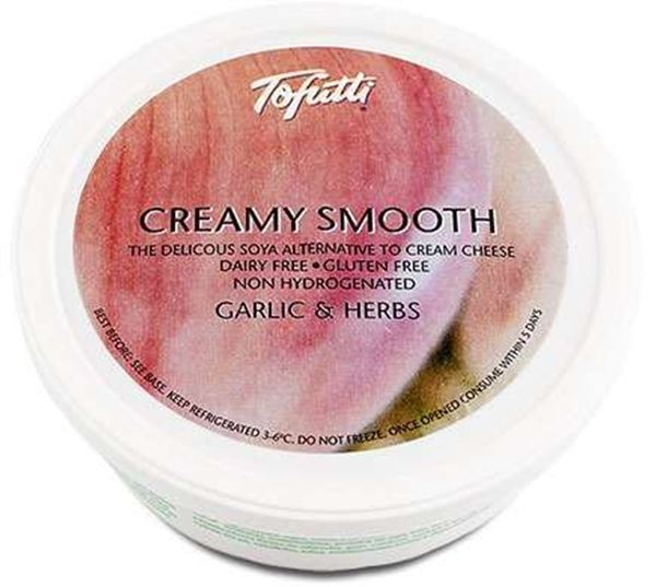 Picture of Creamy Smooth Garlic&Herb, Tofutti, 225g