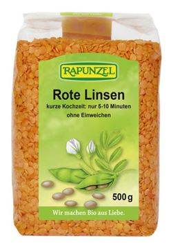 Picture of Rote Linsen, Rapunzel, 500g