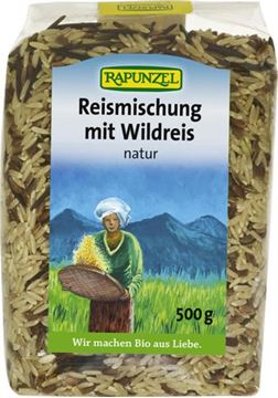 Picture of Reismischung mit Wildreis, Rapunzel, 500g