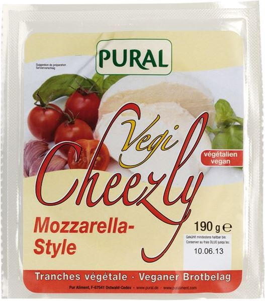 Picture of Cheezly Mozzarella, Pural, 190g