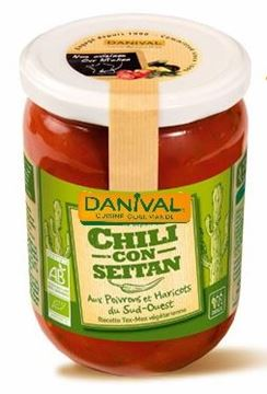 Picture of Chili con Seitan, Danival, 525g