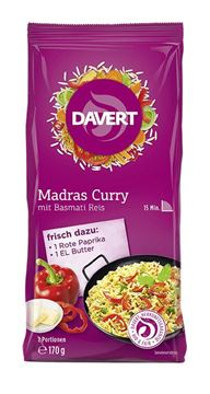 Picture of Madras Curry, Davert, 170g