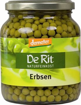 Picture of Erbsen, De Rit, 350g
