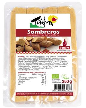 Picture of Tofuwurst Sombreros, Taifun, 4x62.5g