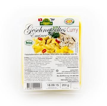 Picture of Soya Curry Geschnetzeltes, Soyana, 200g