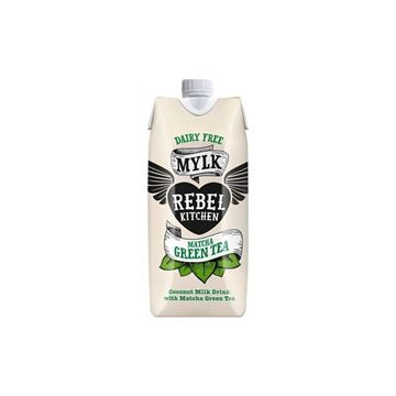Picture of Matcha Green Tea Mylk, Rebel Kitchen, 330ml