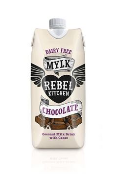 Picture of Chocolate Mylk, Rebel Kitchen, 330ml
