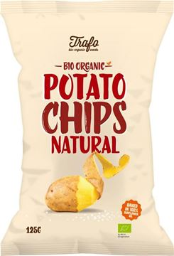 Bild von Potato Chips Natural, Trafo, 125g