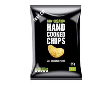 Picture of Handcooked Chips Salt&Pepper, Trafo, 125g
