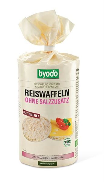 Picture of Reiswaffeln natur, Byodo, 100g