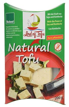 Picture of Natural Tofu, Lord of Tofu, 200g