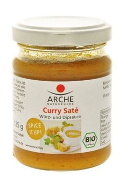 Picture of Curry Saté Würz- und Dipsauce, Arche, 125g