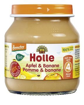 Picture of Apfel & Banane, Holle, 125g
