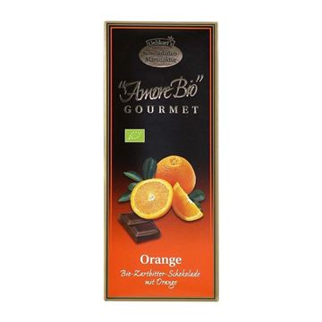 Picture of Amore Bio Zartbitter Orange, Liebhart's, 100g