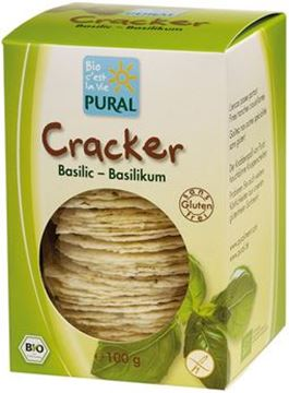 Picture of Cracker Basilikum glutenfrei, Pural, 100g