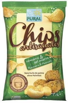 Picture of Chips Rosmarin Meersalz, Pural, 120g