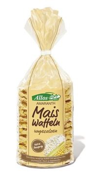 Picture of Maiswaffeln ungesalzen Amaranth, Allos, 100g