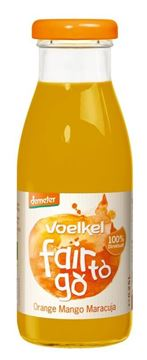 Picture of Fair to go Orange, Mango, Maracuja, Voelkel, 250ml