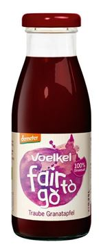Picture of Fair to go, Voelkel, Traube&Granatapfel 250ml
