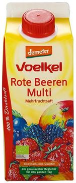 Picture of Rote Beeren Multisaft, Voelkel, 75cl