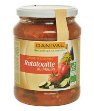 Picture of Ratatouille du Moulin BIO, Danival, 670g