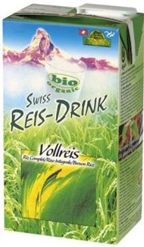 Picture of Swiss Reis-Drink Vollreis BIO, Soyana, 1l