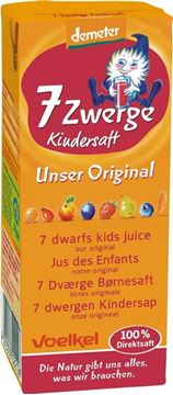 Picture of 7 Zwerge Kindersaft, Voelkel, 200ml