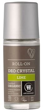 Picture of Deo Crystal Lime, Urtekram, 50ml