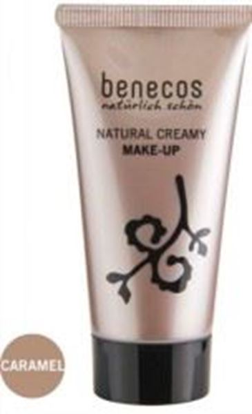 Picture of Creamy Make-Up caramel, Benecos Naural, 30ml