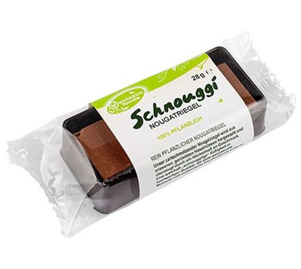 Picture of Schnouggi Nougatriegel, Vantastic Foods, 28g
