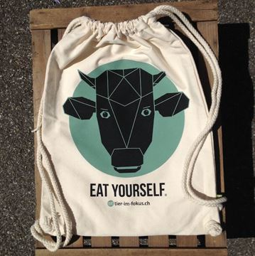 Picture of Rucksack 'Eat yourself', tier-im-fokus.ch, 1 Stück