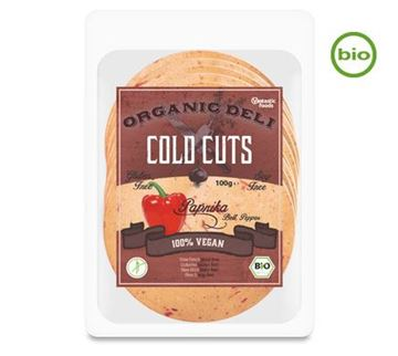 Picture of Cold Cuts Paprika BIO, Vantastic Foods, 100g
