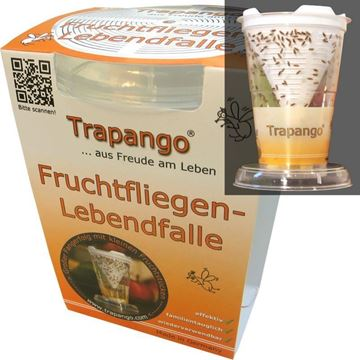 Picture of Fruchtfliegen Lebendfalle, Trapango, 1Stk.