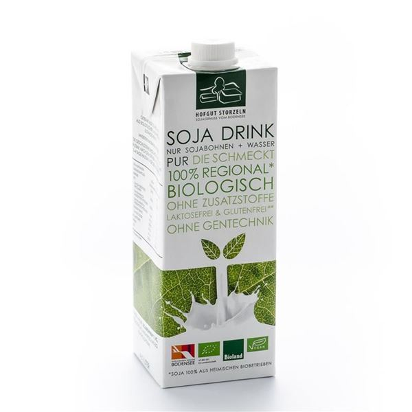 Picture of Soja Drink Pur, Hofgut Storzeln, 1l