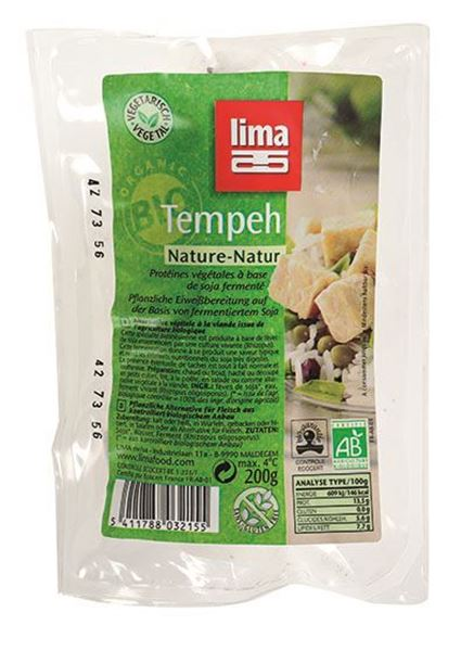 Picture of Tempeh Nature, Lima, 200g