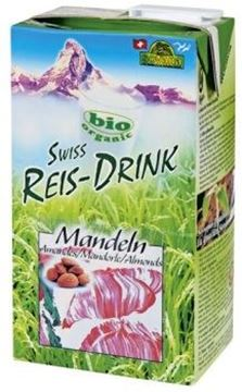 Picture of Swiss Rice-Drink Mandeln, Soyana, 1l