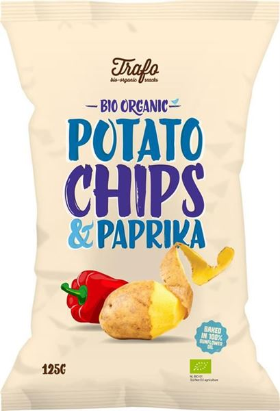 Picture of Chips Paprika, Trafo, 125g